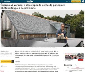 Panneaux photovoltaiques - Circuit Court Energie