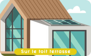 Photovoltaique-toit-terrasse-Circuit Court Energie