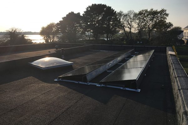 Installation photovoltaique Sene-Circuit Court Energie